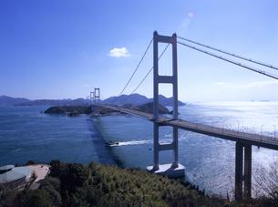 来島海峡大橋 しまなみ海道の写真素材 [FYI01657113]