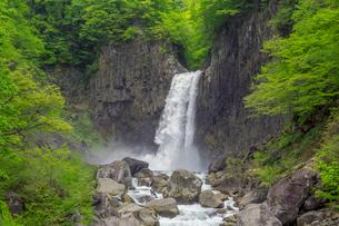 苗名滝の写真素材 [FYI01657129]