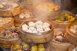 台湾料理 飲茶の写真素材 [FYI01657178]