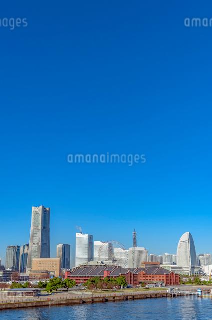 横浜みなとみらいの写真素材 [FYI01657257]