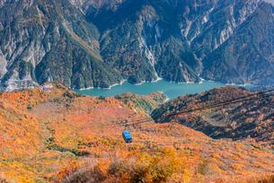 立山ロープウェイ  立山黒部アルペンルート大観峰の写真素材 [FYI01657404]