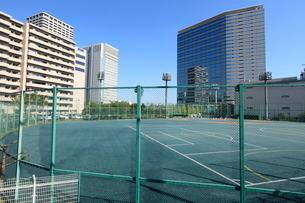天王洲公園野球場の写真素材 [FYI01657682]