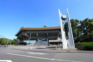 日本武道館の写真素材 [FYI01657842]