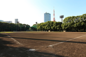 芝公園野球場の写真素材 [FYI01657978]