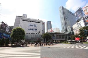 渋谷駅前の写真素材 [FYI01658136]