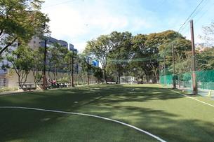宮下NIKE公園フットサル場の写真素材 [FYI01658212]