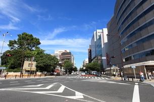 市ヶ谷駅前から九段方面を見るの写真素材 [FYI01658250]