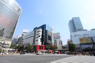 渋谷駅前の写真素材 [FYI01658442]