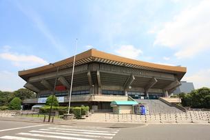 日本武道館の写真素材 [FYI01658657]