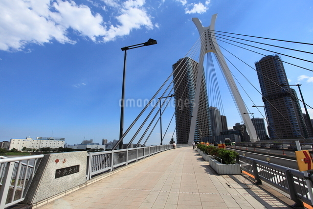 中央大橋の写真素材 [FYI01658734]