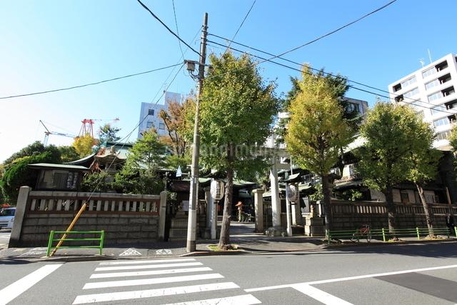 鉄砲洲稲荷神社の写真素材 [FYI01658753]