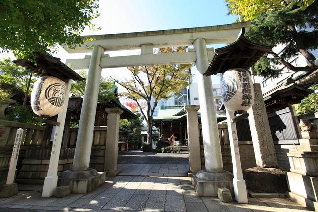 鉄砲洲稲荷神社の写真素材 [FYI01658922]