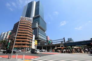 宮益坂下交差点の写真素材 [FYI01659203]