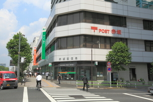 赤坂郵便局の写真素材 [FYI01659277]
