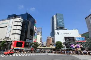 渋谷駅前の写真素材 [FYI01659305]