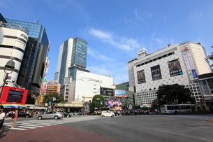 渋谷駅前の写真素材 [FYI01659363]