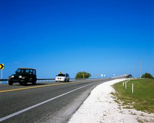 フロリダキーズの橋の写真素材 [FYI01659542]