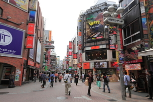 渋谷センター街の写真素材 [FYI01659626]