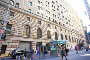 連邦準備銀行(FRB) ニューヨークの写真素材 [FYI01659771]