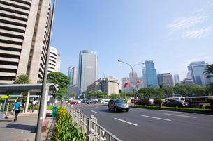 フィリピン マニラ マカティ地区の写真素材 [FYI01659952]