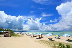 コンドイビーチ 竹富島 沖縄県の写真素材 [FYI01659954]