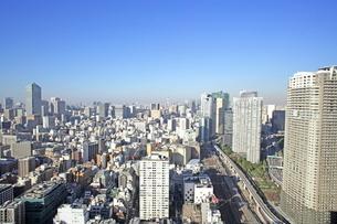 世界貿易センタービルから見た汐留ビル街の写真素材 [FYI01659968]