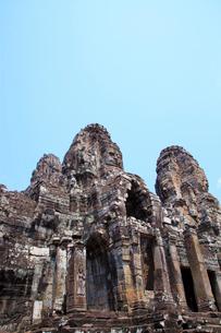 バイヨン寺院 アンコールトム アンコールワットの写真素材 [FYI01660124]