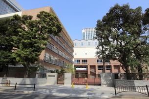 千代田区立麹町中学校の写真素材 [FYI01660183]