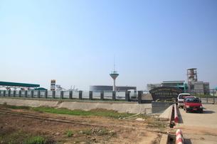 ティワラ経済特区 ヤンゴンの写真素材 [FYI01660191]