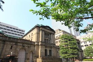 日本銀行本店の写真素材 [FYI01660217]