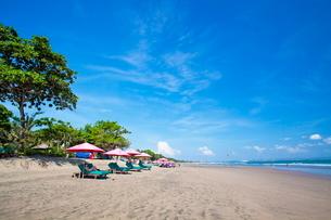インドネシア バリ島 スミニャックビーチの写真素材 [FYI01660229]