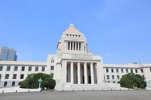 国会議事堂の写真素材 [FYI01660326]