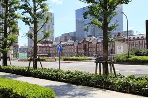 東京駅丸の内駅舎の写真素材 [FYI01660328]