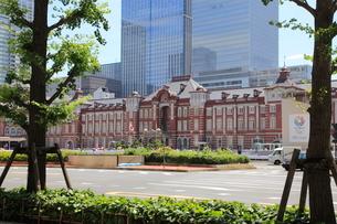東京駅丸の内駅舎の写真素材 [FYI01660333]