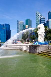 シンガポール マーライオンの写真素材 [FYI01660370]
