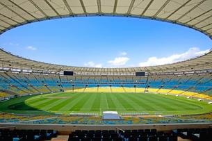 リオデジャネイロ マラカナンスタジアムの写真素材 [FYI01660419]