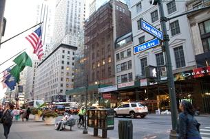 ニューヨーク マンハッタンの写真素材 [FYI01660527]