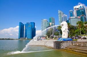 シンガポール マーライオンの写真素材 [FYI01660532]