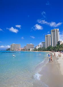 ワイキキビーチ ハワイの写真素材 [FYI01660937]