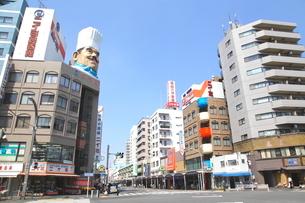 かっぱ橋道具街の写真素材 [FYI01661018]