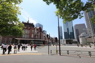 東京駅丸の内駅舎の写真素材 [FYI01661039]