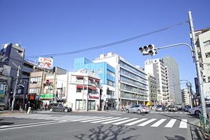 広尾橋交差点の写真素材 [FYI01661146]