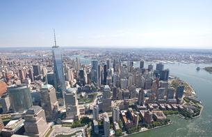 ニューヨーク マンハッタンの写真素材 [FYI01661280]