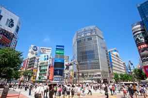渋谷駅前の写真素材 [FYI01661450]