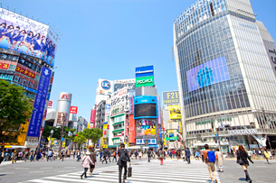 渋谷駅前の写真素材 [FYI01661461]