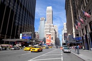 ニューヨーク マンハッタンの写真素材 [FYI01661496]