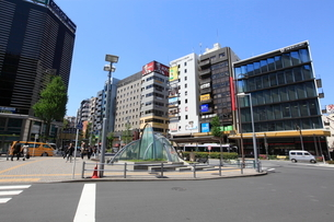 恵比寿駅西口の写真素材 [FYI01661506]