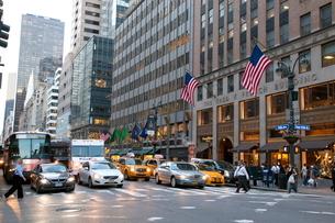 ニューヨーク マンハッタンの写真素材 [FYI01661557]