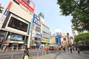 新宿駅東口の写真素材 [FYI01661651]