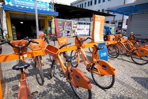 リオデジャネイロ レンタル自転車システム の写真素材 [FYI01661687]